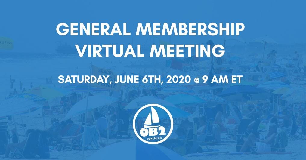 OBYC General Membership Meeting